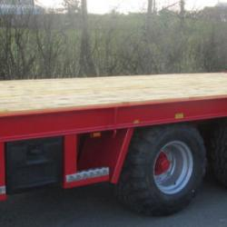 PF 27 Tonne Tractor Low Loader Plant Digger Bale Silage Trailer Extras Avai
