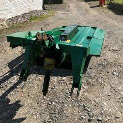 Major 800 Offset Topper PTO Tractor Mounted